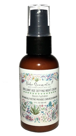 Boho Aromatic Brilliant Age Defying Night Cream