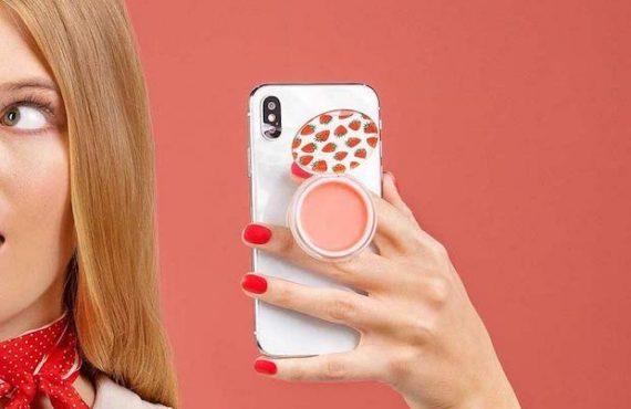 貼「手機」潤唇膏‧隨行隨換