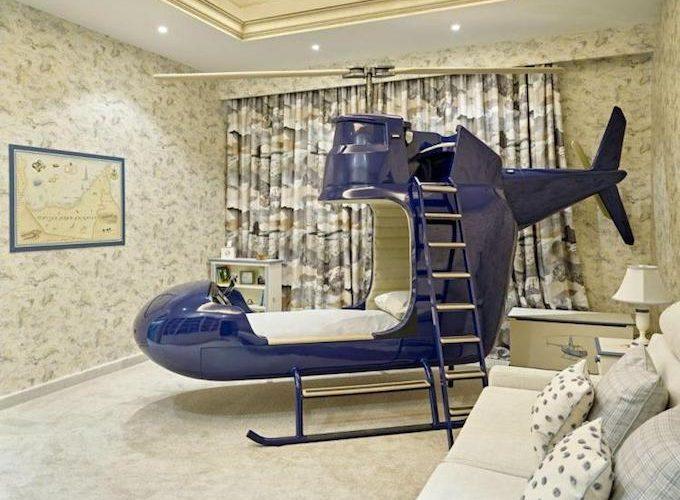 「直升機」兒童床.備駕駛艙