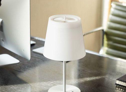 空氣淨化「枱燈」.貼身過瀘