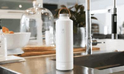 「自動消毒」水樽‧60秒隨時飲