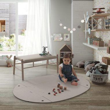 環保BB床‧變地毯+櫈仔