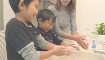 「惡菌印章」‧小朋友洗手絕招