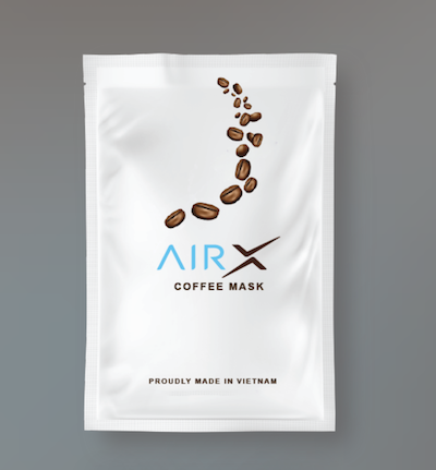 可重用「咖啡口罩」.KO「銅芯」