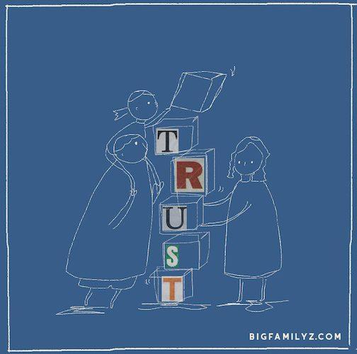 信任 ‧ 是家教