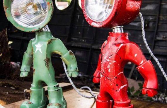 陸軍「機械人燈」・型到呢~