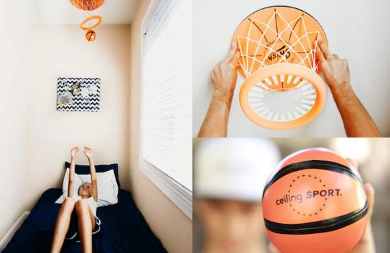 天花板籃球set・親子友誼賽