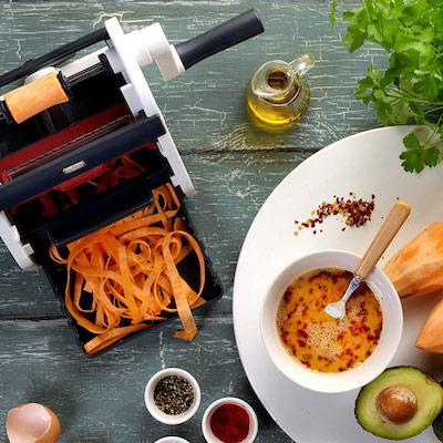 史上最易・自製「蔬果麵條」
