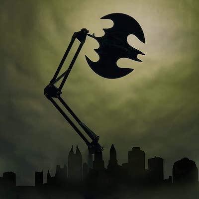蝙蝠床頭燈 · 型入屋