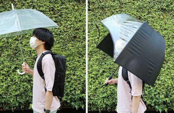 日本「背囊免濕」雨傘・加長版