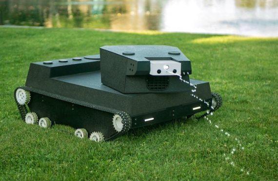 移民必備・草地「漫遊坦克」